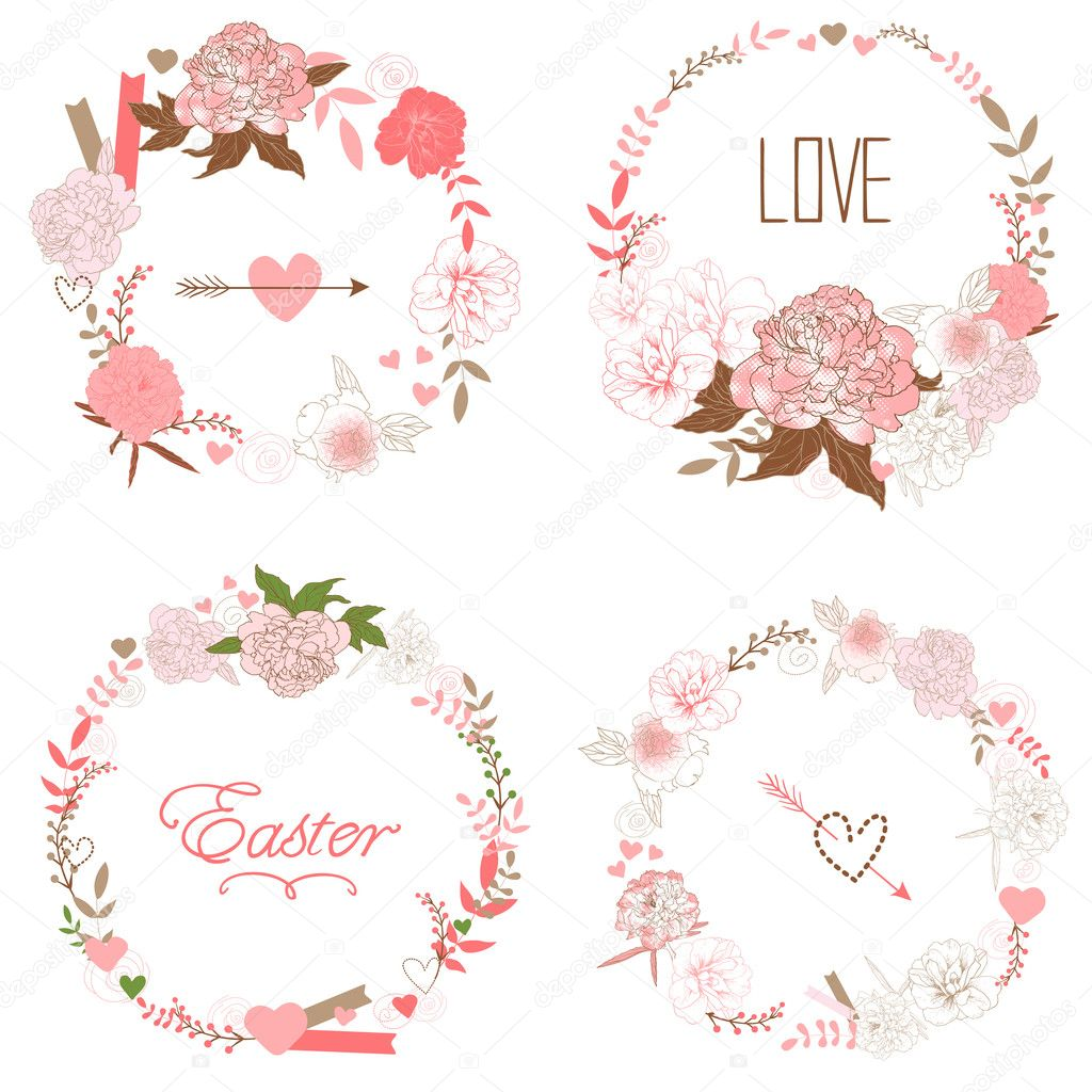 Floral Frame Collection