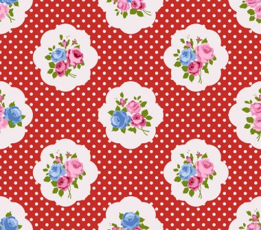 Cottage chic pattern