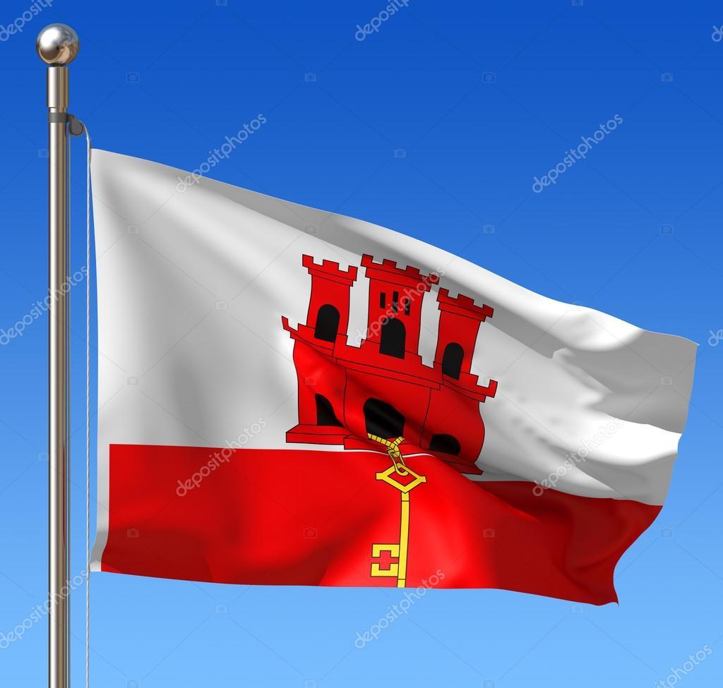 Bandiera Di Gibilterra Foto Stock Regissercom 20137887