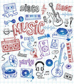 Sketchy music illustrations