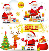 Christmas SALE with Santa
