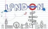 Photo London Doodles