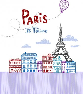 Paris, post card