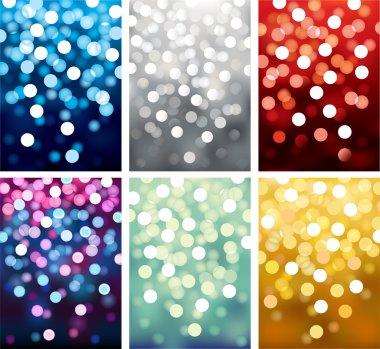 Backgrounds defocused light