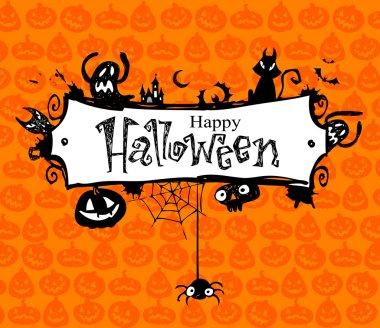 Halloween frame.