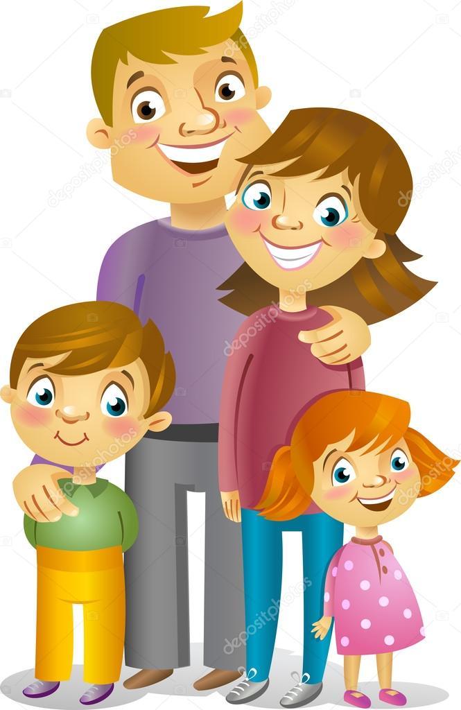 Vecteurs Pour Famille Illustrations Libres De Droits Pour Famille Depositphotos
