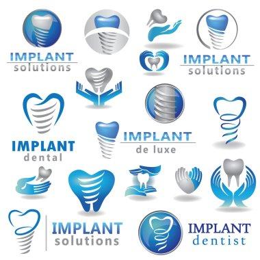Dental implants symbol