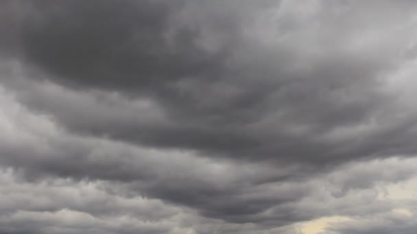 grey clouds   time-lapse