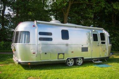 Metal caravan