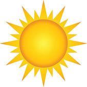 letní horké slunce