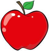 Fotografia apple fumetto rosso