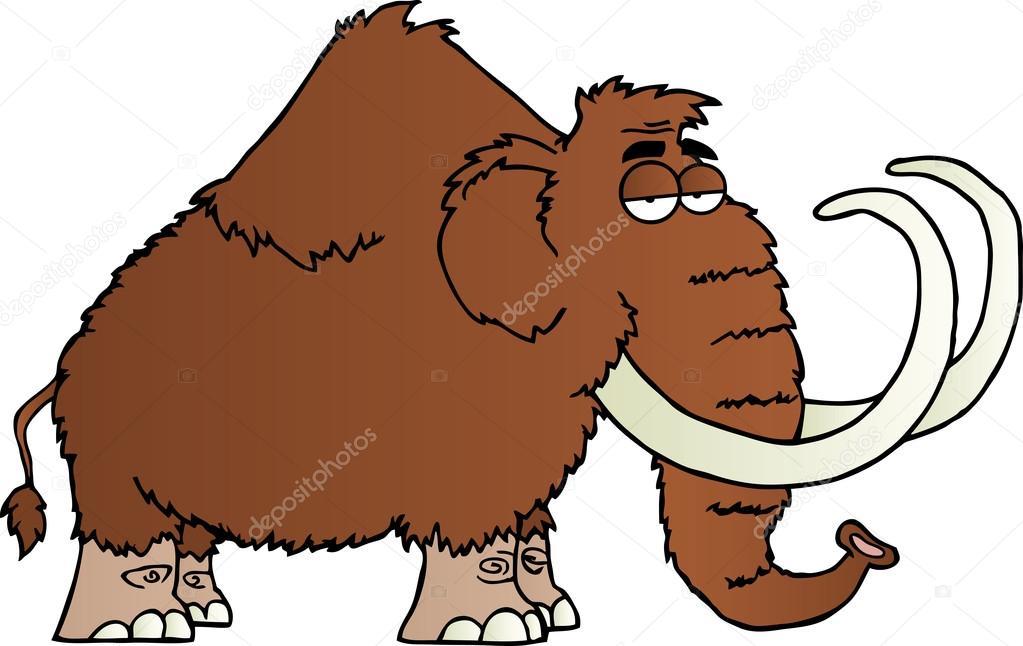 Mammoth Cartoon Character Stock Photo 169 Hittoon 13247543