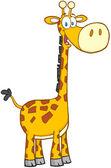 giraffa cartoon personaggio mascotte