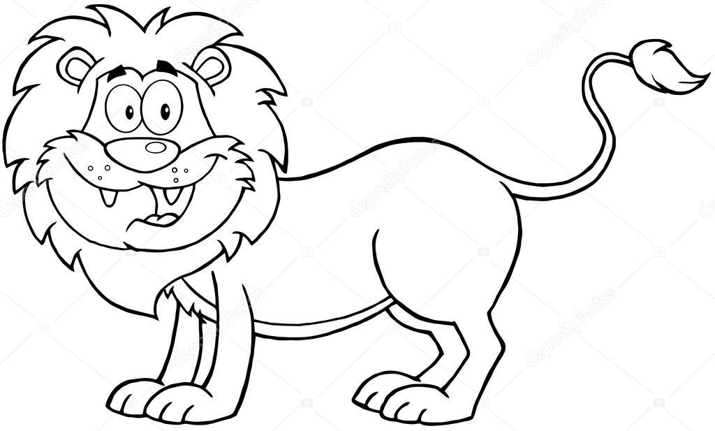 Dibujo De Cachorro De León Para Colorear: 스톡 사진 © HitToon #25093527