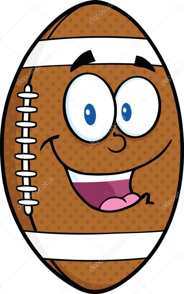 Personnage de dessin anim de ballon de football am ricain photographie hittoon 31056833 - Dessin football americain ...