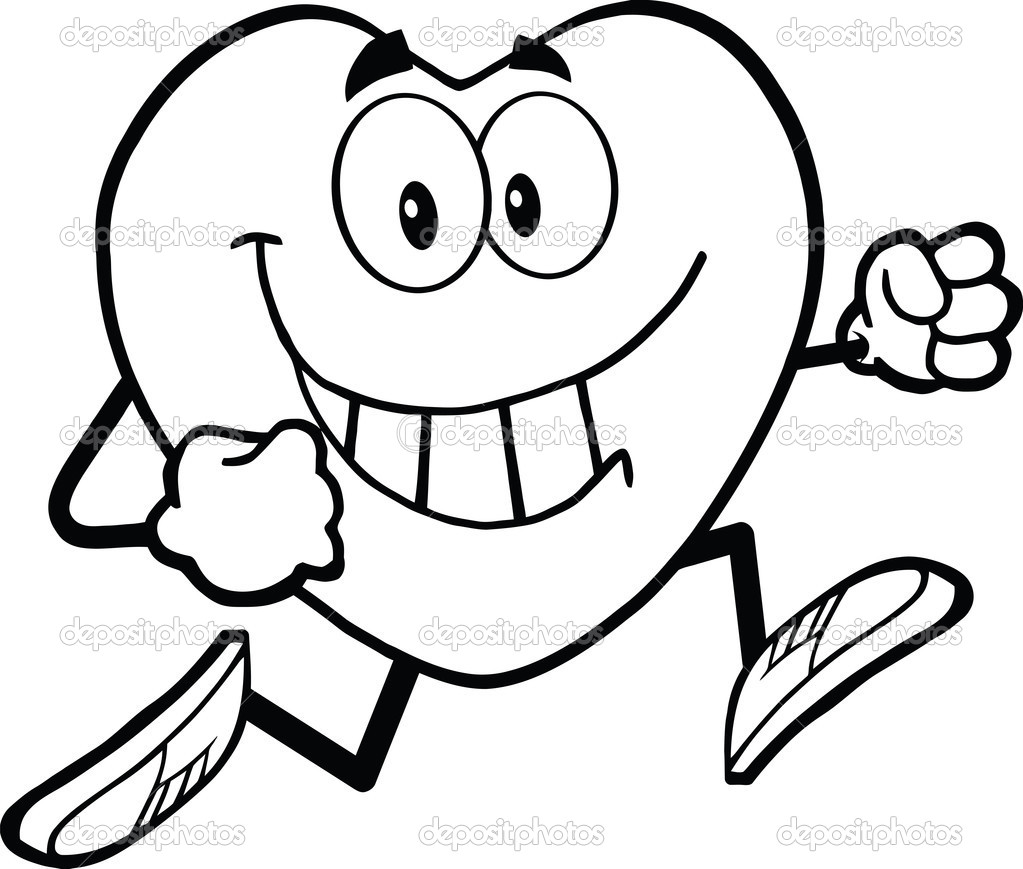 heart healthy coloring pages - photo#14