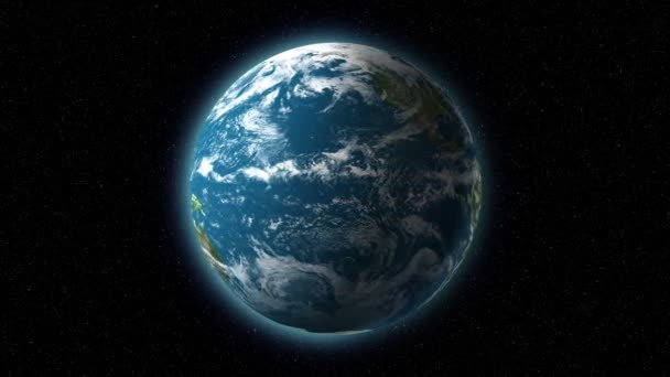 alapvető 3d föld spining