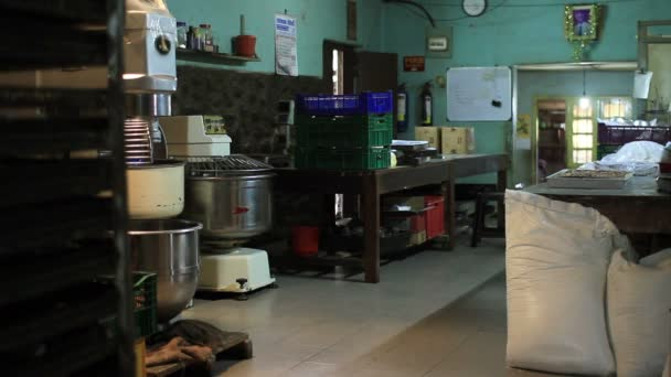 Dirty, unhygienic pastry kitchen
