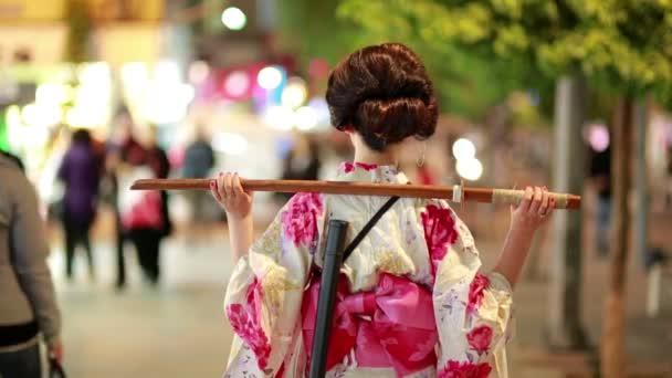 japanisch geisha samurai outdoor