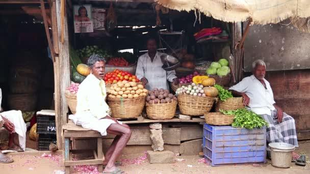 Local market vendors