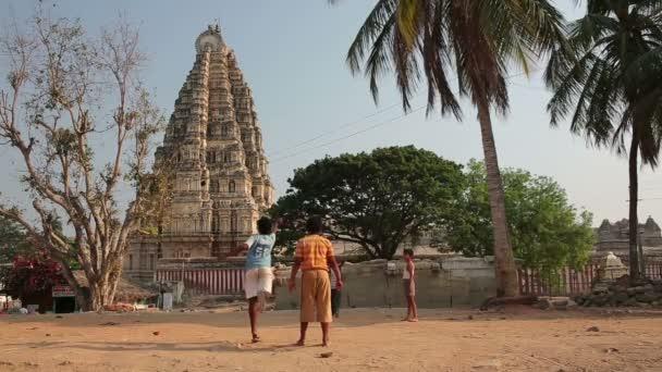 Local boys at Hindu temple
