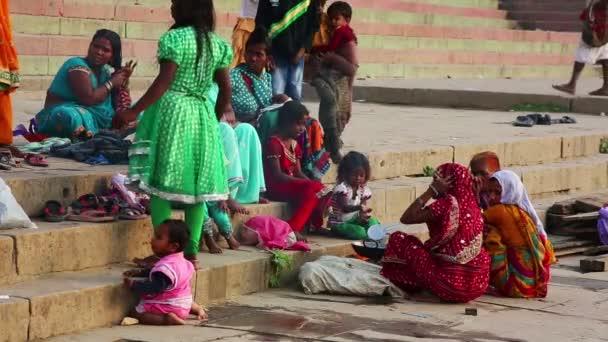 Alltagsszene am Ganges River