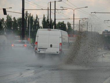 Big rain in Lublin, Poland - July 5, 2013