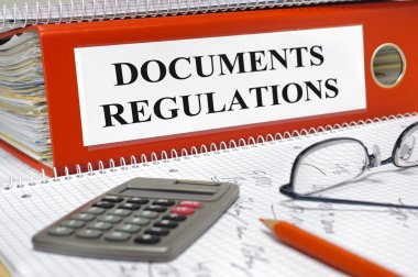 Regulations and documents