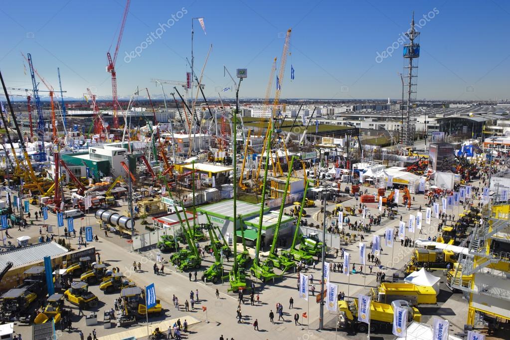 Trade fair for machines