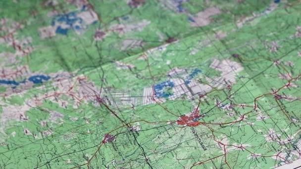 harita üzerinde İller Arası Mesafe Ölçme