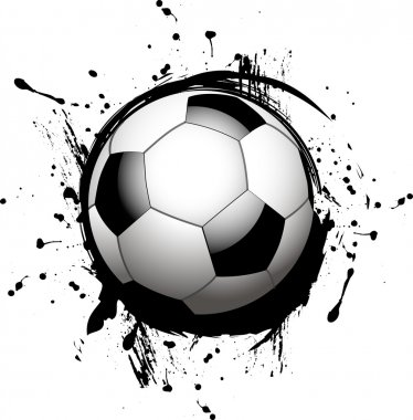Vector football ball (soccer)