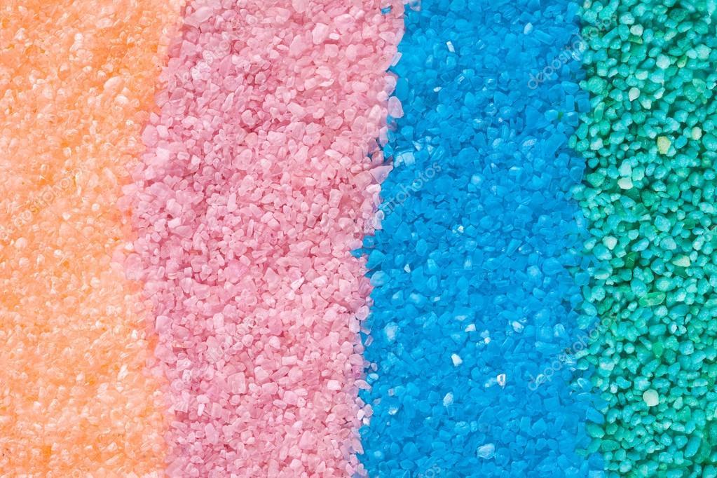 Verschiedene Farben Von Badesalz Stockfoto C Jirkaejc 23485249