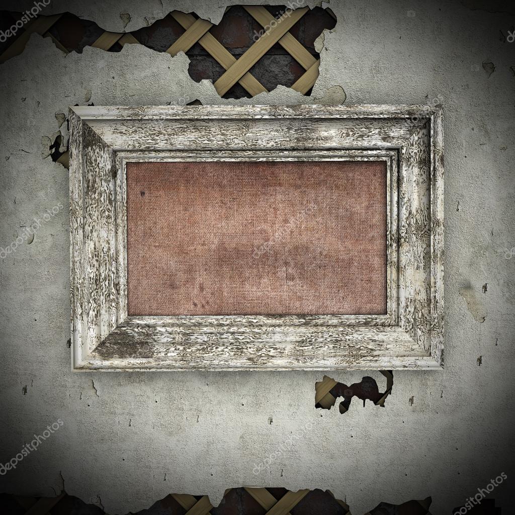 alte Rahmen an Wand — Stockfoto © frescomovie #13845117