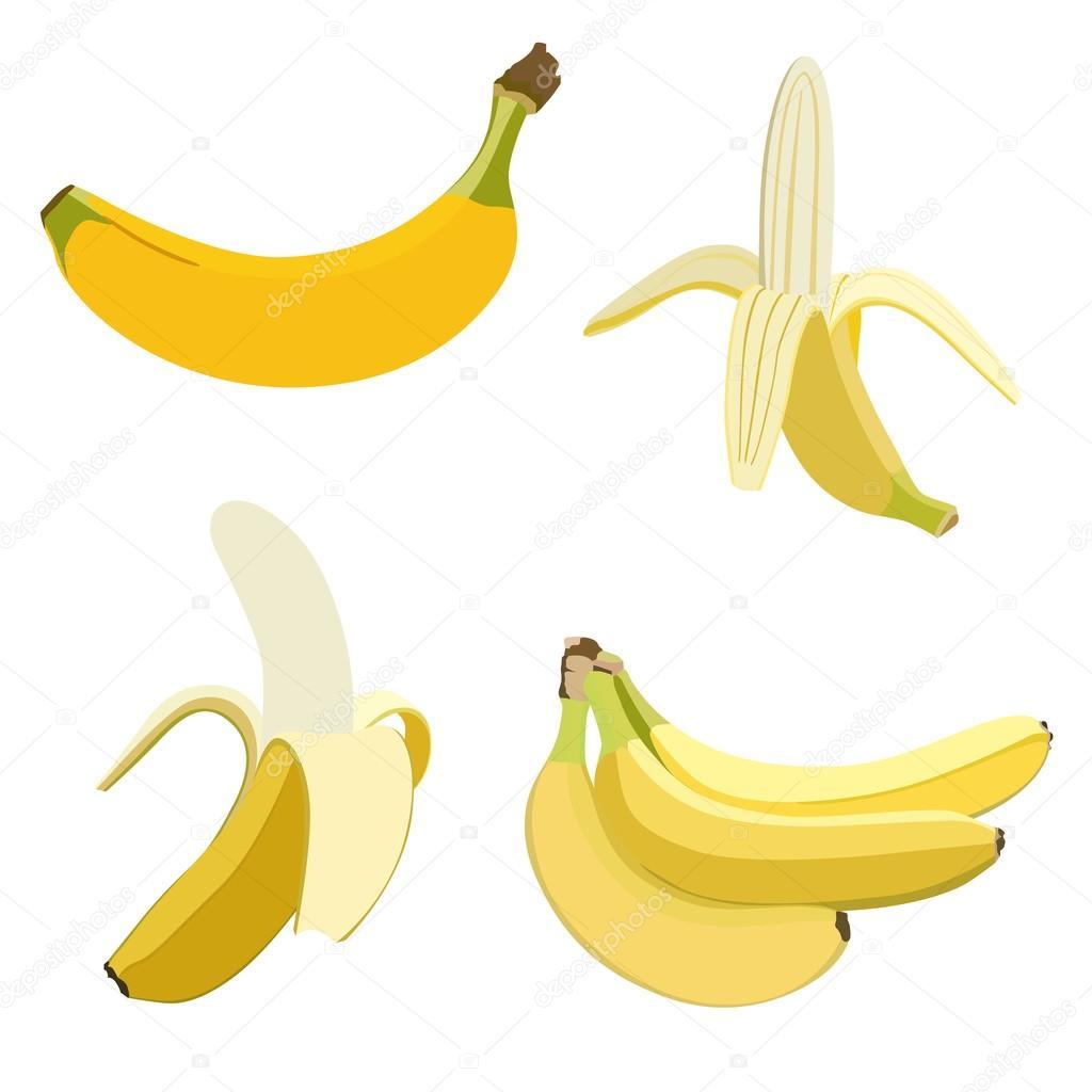 Set of bananas.