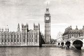 Fotografie starý Londýn, černé a bílé, historických fotografií