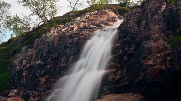 vodopády v norské hory