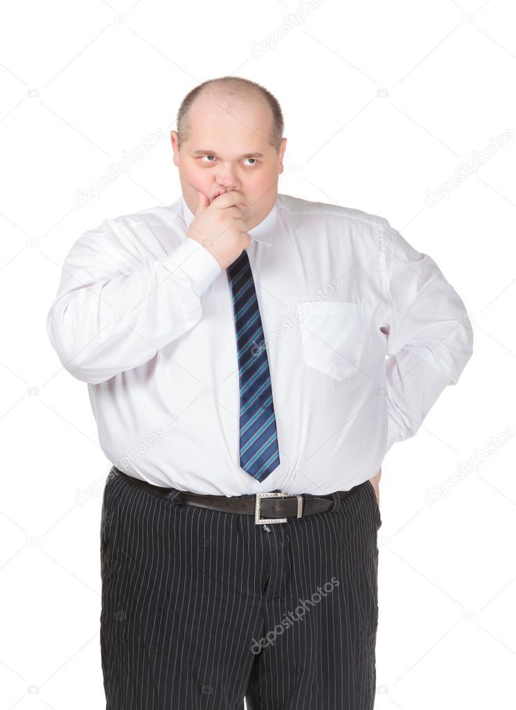 жирные мужики в рубашках фото подняла руки