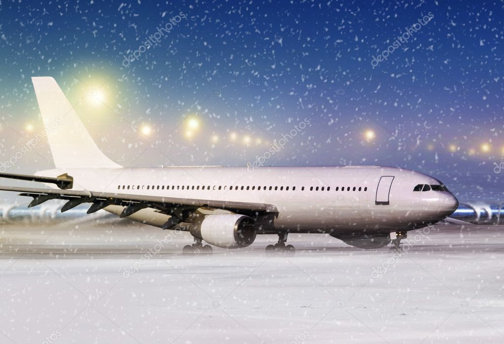 Aircraft at non-flying weather l