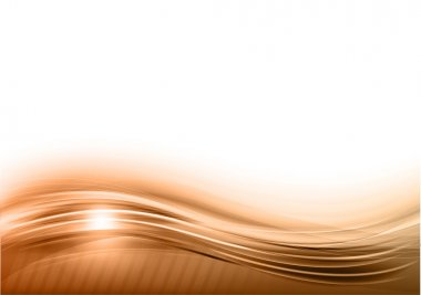 Wave abstract background on the white stock vector