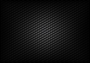Hexagon background texture - black color stock vector