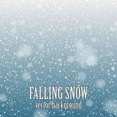 Fotografie padající sníh