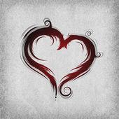 Fotografia cuore barocco
