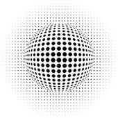 abstraktní pozadí - optický klam