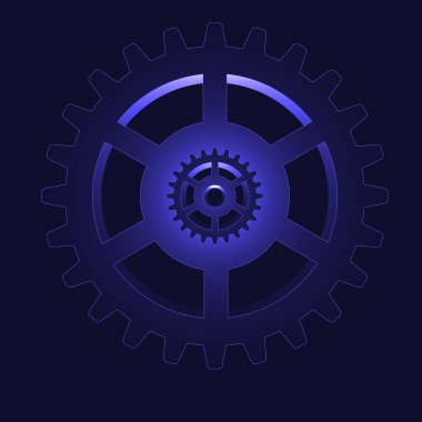 vector gear - cog wheel