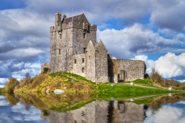 Dunguaire castle near Kinvarra in Co. Galway