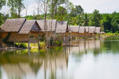 Small village at the water