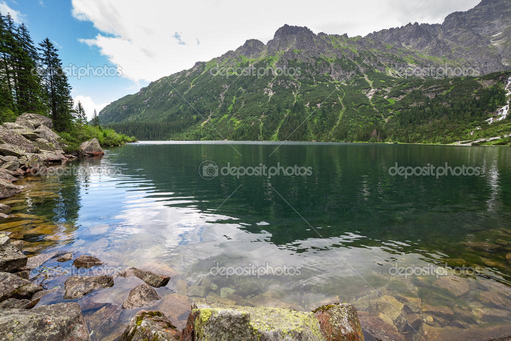 Фотообои Глаз озера моря в Татры