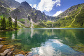 Photo Eye of the Sea lake in Tatra mountains