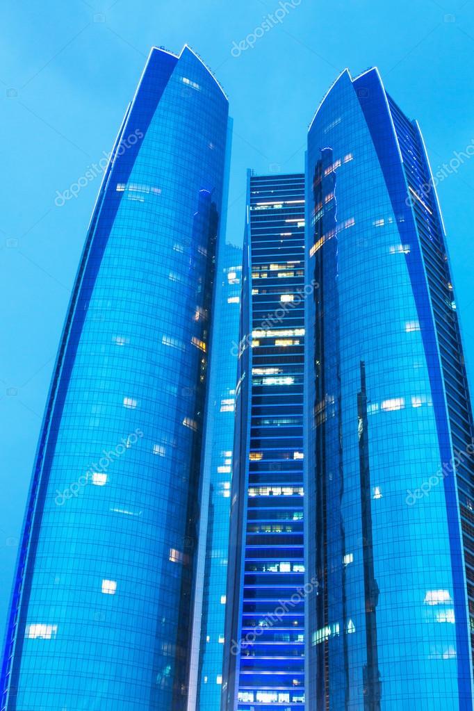 abu dhabi emiratos rabes unidos de marzo etihad torres de edificios en abu dhabi el de marzo de emiratos rabes unidos complejo con