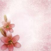 Svatební pozadí s lily